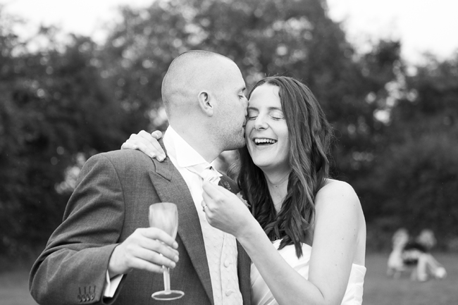 Happy couple at The Grange. Image courtesy of Zid at the Image Centre Bath.