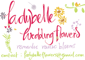 Ladybelle Wedding Flowers logo