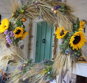 Foraged Floral/Harvest Hoop